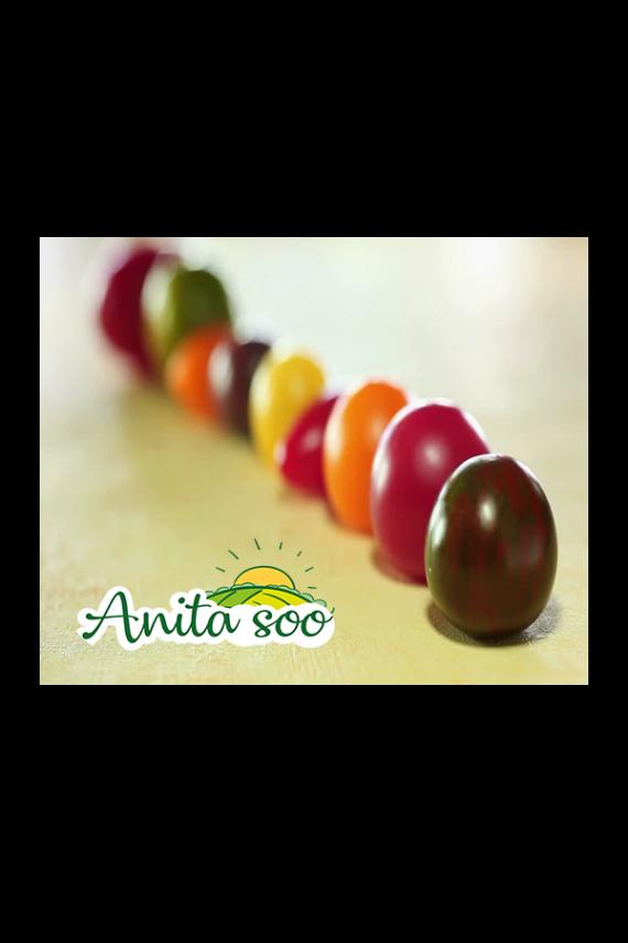 گوجه چری رنگی